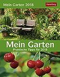 Mein Garten - praktische Tipps - Kalender 2018 - Harenberg-Verlag - Tagesabreißkalender mit Pflanzenportraits - 12,5 cm x 16 cm