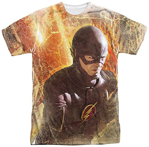 Stab & wound Flash TV Series - Men's T-shirt Flash Town (one sided)