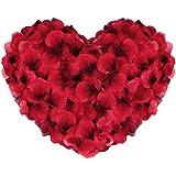 Vegena Rozenblaadjes, zijden rozenblaadjes, rozen, blaadjes, bloemen, kunstbloemen, zijden bloemen voor een romantische sfeer