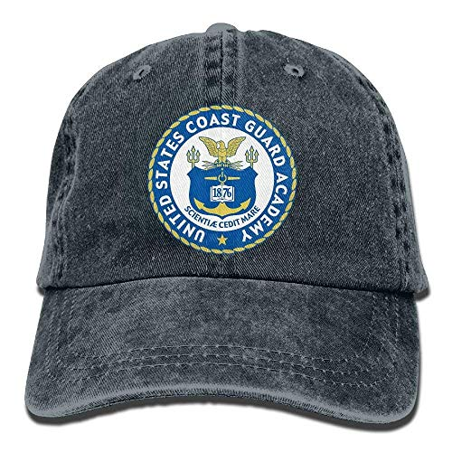 United States Coast Guard Academy Unisex Erwachsene verstellbare Baseball Dad Caps -