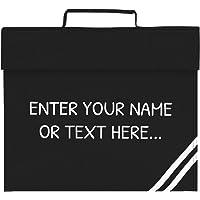 Personalised Kids Junior Organiser Book Bag (8 Colours) (Black)