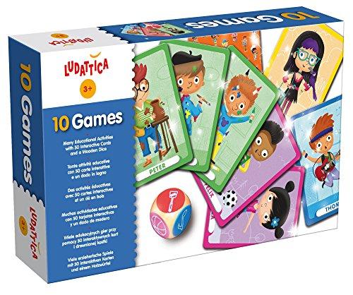 Lisciani-47246-10-Games Ludatica 10 Gier -