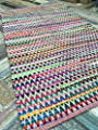 Gorgeous Multi Colour Zig Zag Design Soft Indian Rug 120cm x 180cm (4ft x 6ft) - low-cost UK light shop.