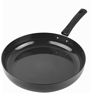 Cello Classy Hard Anodized Induction Base Frying Pan 24 cm  Black
