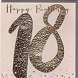 Belly Button Designs hochwertige Glückwunschkarte zum 18. Geburtstag aus der