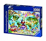 Ravensburger Disney World Map 1000 piece jigsaw puzzle