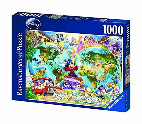 Ravensburger 15785 - Disney's Weltkarte