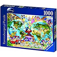 Ravensburger Disney World Map 1000pc Jigsaw Puzzle