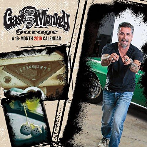 Preisvergleich Produktbild Gas Monkey Garage 2016 Calendar