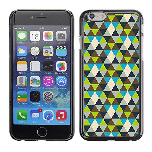 Graphic4You BLACK WHITE MAZE Muster Harte Hülle Case Tasche Schutzhülle für Apple iPhone 6 / 6S Design #11