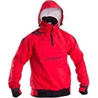 Typhoon Mens Scirocco Hooded Smock Red - Breathable Waterproof Sprayproof - 5 layer fabric construction