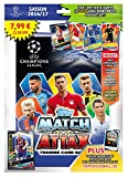 Topps D105726 de - Match Attax Trading Cards Starter Pack Folder Champions League Season 2016/17 Checklist Game Field, 5 cards and 1 Limited Card