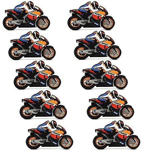 A plus+ 10 pezzi motociclo chiavetta usb flash drive 8 gb pen drive regalo per i motociclisti