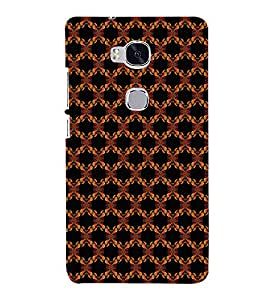 EPICCASE flowery knots Mobile Back Case Cover For Huawei Honor 5X (Designer Case)
