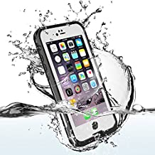 Funda Impermeable Para Móvil iPhone 6/6s(4.7 inch),Easylife Carcasa Anti-agua a Prueba de Agua,Golpes,Polvo,Funda Protectora de Cubierta,Waterproof Case for Apple iPhone 6s/6 (blanco)