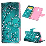 Xiaomi Redmi Note 4X Case,Badalink Colorful Painting Soft PU Leather Flip Wallet Cover with Magnetic Closure Inner TPU Bumper Protective Case for Standard Version Xiaomi Redmi Note 4X / Xiaomi Redmi N