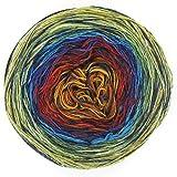 Donegal Tweed Farbverlauf Galaxie