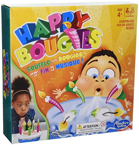 Hasbro Gaming- Jeu Happy Bougies, E0887