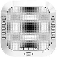 Weißes Rauschen Maschine White Noise Maschine mit 5 natürliche beruhigende Klänge, einstellbare Lautstärke Einschlafhilfe... preisvergleich bei billige-tabletten.eu