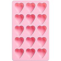 Plateau à glaçons coeur, moules à glaçons en silicone, utilisation pour la cuisine, chocolat, bonbons, rose