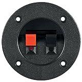 Terminal de altavoces, de 2 polos, regleta de bornes en color rojo y negro 20 unidades