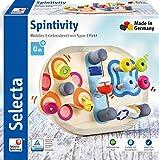 Selecta 62064 Spintivity, Motorikbrett aus Holz, 20 cm, bunt