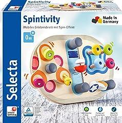 Selecta 62064 Spintivity, Motorikbrett aus