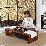 Tavolini portacomputer semplici in legno massello Tavolino Tavolino da caffè Tavolino lungo Tavolini da divano ( dimensioni : 60*40*30cm )