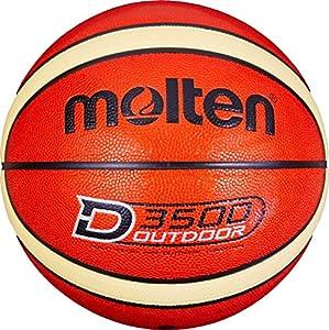Molten Herren B7D3500 Basketball, Orange, 7