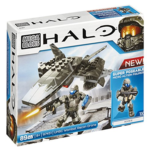 Mattel Mega Bloks CYY43 Halo - UNSC Wombat Attack