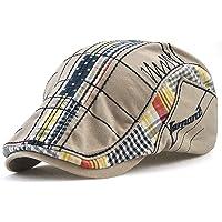 Tioamy Baschi Scozzesi Cappelli e Cappellini Militare Camuffamento Coppola Cappello Irish Gatsby Newsboy Hat Flat cap