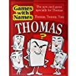 THOMAS'S GAME: Mens or boys stocking filler / fillers for men or boy called THOMAS, TOMMY or TOM (also a fab secret santa or fun birthday or christmas party present or special original xmas gift for the man who has everything !)