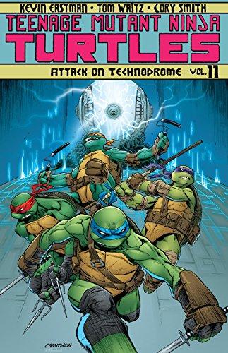 Teenage Mutant Ninja Turtles Vol. 11: Attack On Technodrome ...