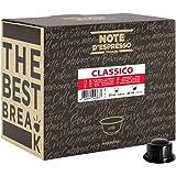 Note d'Espresso - Classico - Dosettes de Café - Compatible avec les Machines CAFFITALY* - 100 caps
