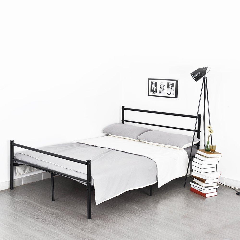 Doppelbett Metallbett Metall Rahmen Bett Jugendbett Metall ...
