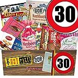 DDR Paket | Geschenk Opa | Zahl 30 | Suessigkeiten Box