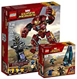 LEGO Marvel Super Heroes 76104 - Zerstörung des Hulkbuster + LEGO Marvel Super Heroes 76101 - Outrider Dropship-Angriff