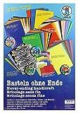Ursus 7910099 - Basteln ohne Ende, 164 Bastelpapiere, sortiert in verschiedenen Materialien, Farben und Motiven