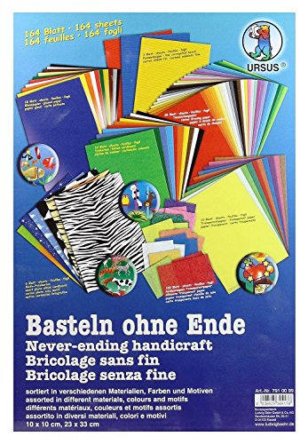 Ursus 164 Bastelpapiere, sortiert