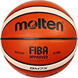 Best Basketballs - Molten GM7X Basketball (BGM7X) Composite Leather FIBA Approved Review