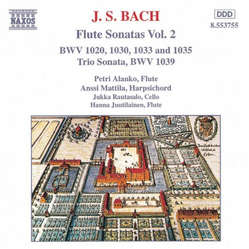 Bach, J.S.: Flute Sonatas, Vol. 2