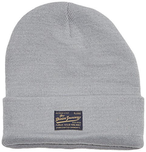Solid - Hat - Scully, Berretto da uomo, grigio (monument 2545), unica