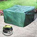 Large Square Waterproof Resistant Firepit Cover 70 x 70 x 51cm