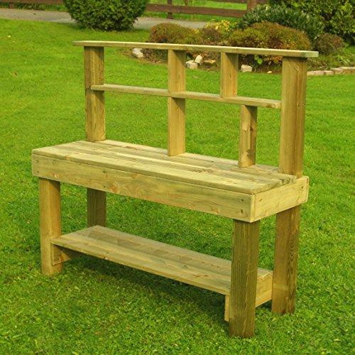 Werkbank für Kinder aus Holz Outdoor & Indoor geeignet imprägniert Garten
