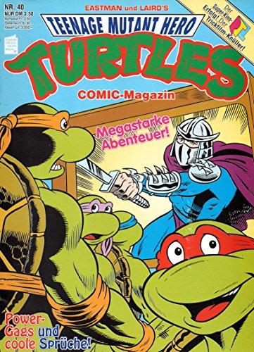 *Verlagsvergriffen* TEENAGE MUTANT HERO TURTLES (TMNT) Comic Magazin # 40: Die Flucht aus Ägypten!