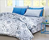 Swiss Living Double Bedsheet With 2 Pill...