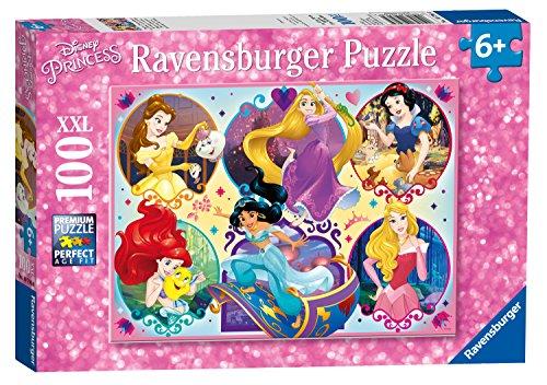 Disney Princess-2 Stück (Ravensburger UK 10796Disney Princess Puzzle, 2x große)