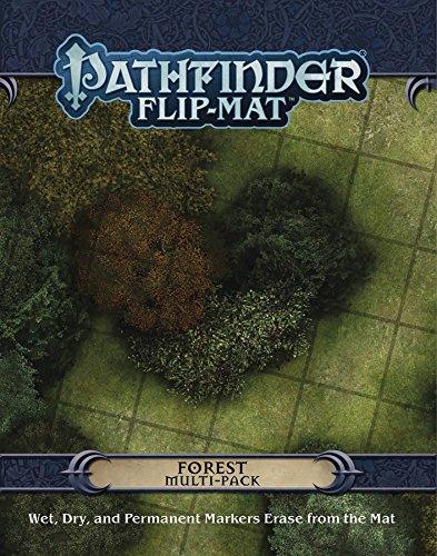 Pathfinder Flip-Mat Multi-Pack: Forests por Jason A. Engle