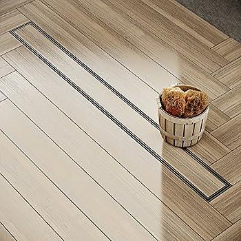 tece duschrinne drainline 800 mm edelstahl seal system 600800 baumarkt. Black Bedroom Furniture Sets. Home Design Ideas