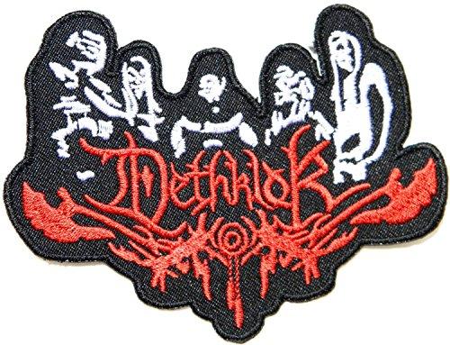 eavy Metal Music Band Logo I Embroidered Iron on Patches Sign-Kostüm mit Logo Applikationen (Boy Band Kostüm)